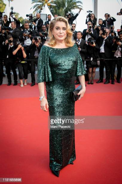 Actress Catherine Deneuve attends the closing ceremony screening of The Specials during the 72nd annual Cannes Film Festival on May 25 2019 in Cannes...
