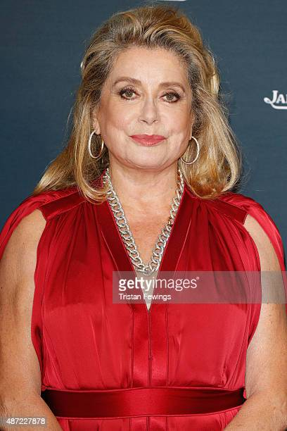 Actress Catherine Deneuve attends the JaegerLeCoultre gala event celebrating 10 years of partnership with La Mostra Internazionale d'Arte...