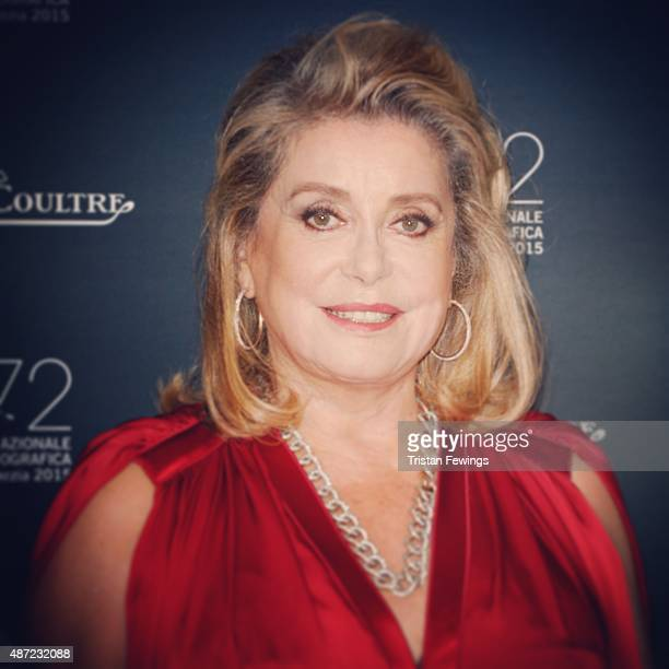 Actress Catherine Deneuve attends the Jaeger-LeCoultre gala event celebrating 10 years of partnership with La Mostra Internazionale d'Arte...