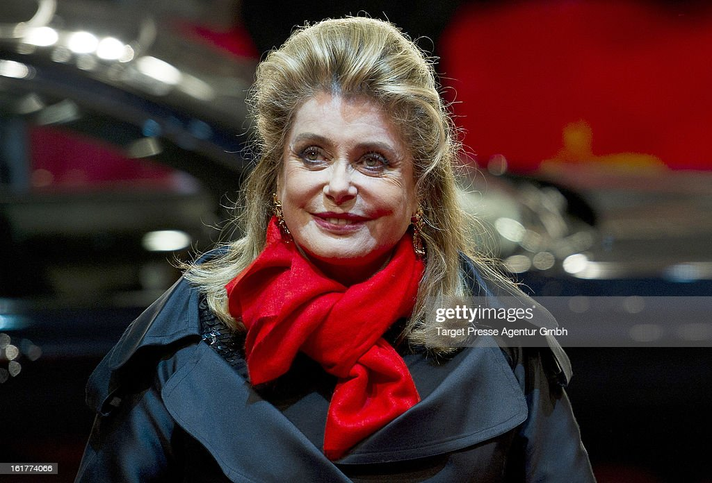 Actress Catherine Deneuve attends the 'On My Way' premiere during the 63rd Berlinale International Film Festival on February 15, 2013 in Berlin, Germany.