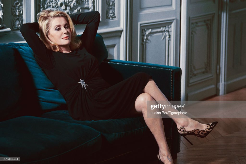 Diane Kruger and Catherine Deneuve, Madame Figaro, October 20, 2017
