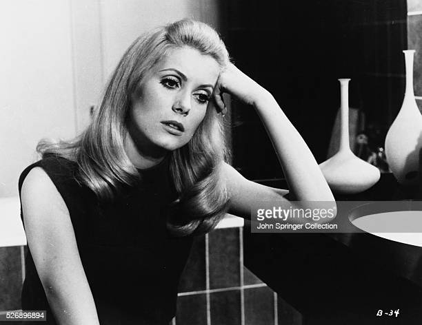 Actress Catherine Deneuve plays Severine Serizy in the 1967 film Belle de jour