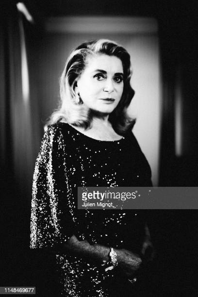 Actress Catherine Deneuve poses for a portrait on May 25 2019 in Cannes France