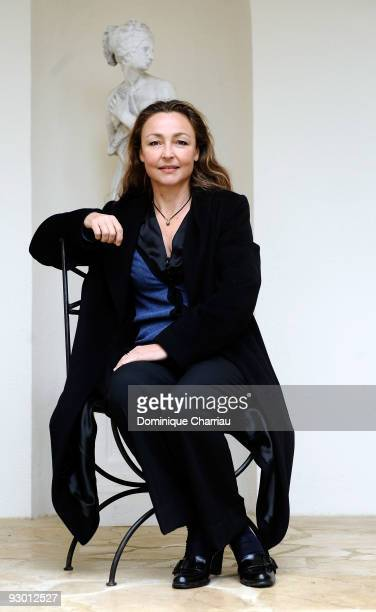 Actress Catherine Frot attends a photocall for the movie Le Vilain during the Sarlat Film Festival on November 12 2009 in SarlatlaCaneda France