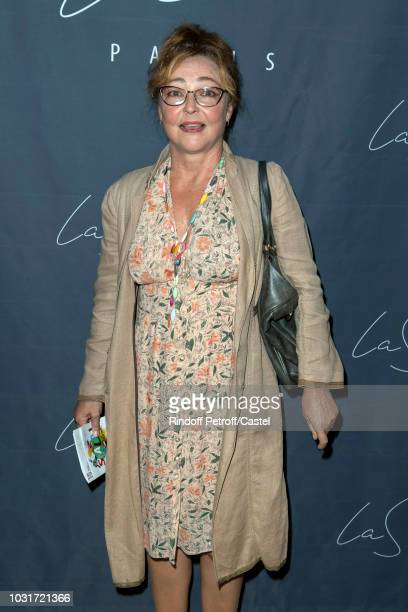 Actress Catherine Frot attends La Scala reopens on September 11 2018 in Paris France