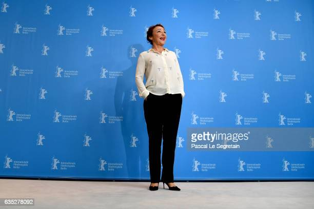 Actress Catherine Frot attends the 'The Midwife' photo call during the 67th Berlinale International Film Festival Berlin at Grand Hyatt Hotel on...