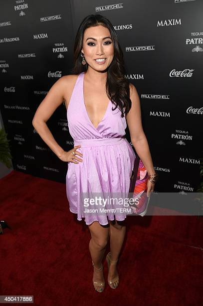 Actress Catherine Haena Kim attends Maxim's Hot 100 Women of 2014 celebration and sneak peek of the future of Maxim at Pacific Design Center on June...
