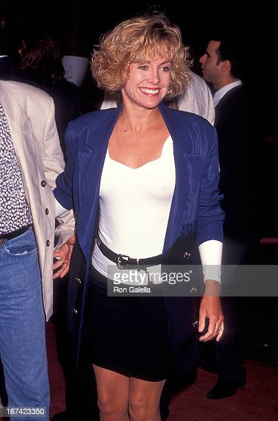 """Actress Catherine Hicks attends the """"Bill & Ted's Bogus Journey"""" Hollywood Premiere on July 11, 1991 at the Mann's Chinese Theatre in Hollywood,..."""