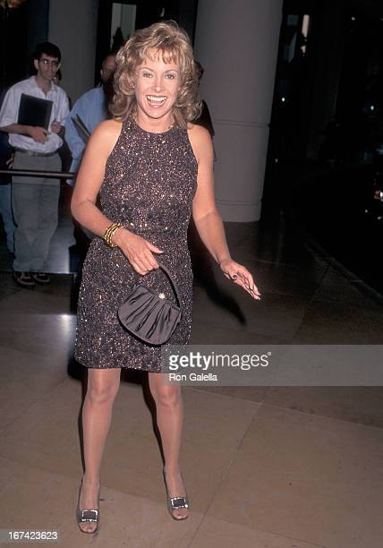 Actress Catherine Hicks attends the Fulfillment Fund's Courage to Dream Award Salute to Candy and Aaron Spelling on September 29 1996 at the Beverly...