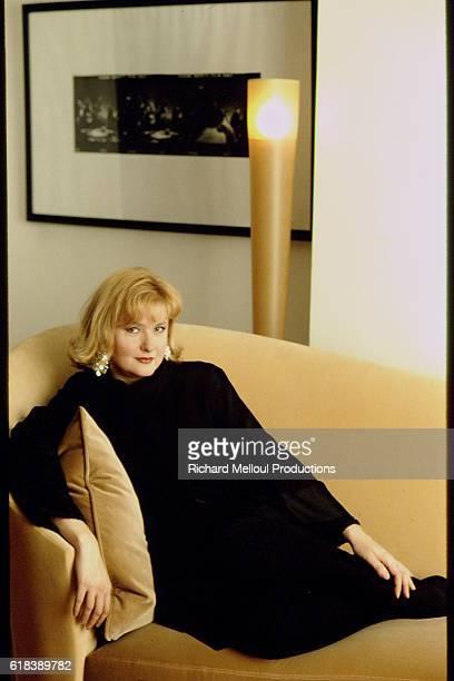 Actress Catherine Jacob at Home