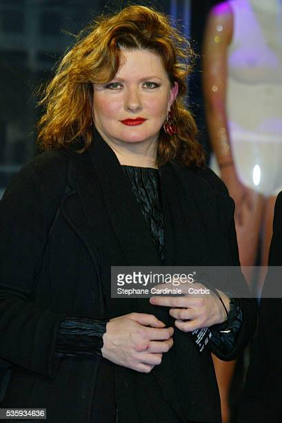 Actress Catherine Jacob at the Paris premiere of Minority Report The film directed by Steven Spielberg stars actor Tom Cruise