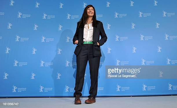 Actress Catherine Keener attends the 'Maladies' Photocall during the 63rd Berlinale International Film Festival at the Grand Hyatt Hotel on February...