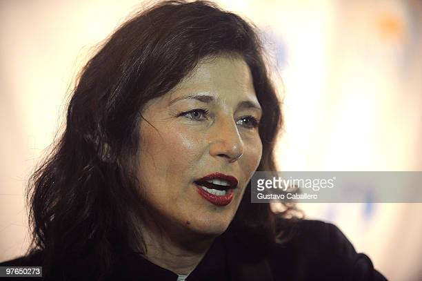 Actress Catherine Keener attends the premiere of ''Please Give'' during the Miami International Film Festival 2010 at the Gusman Center for the...