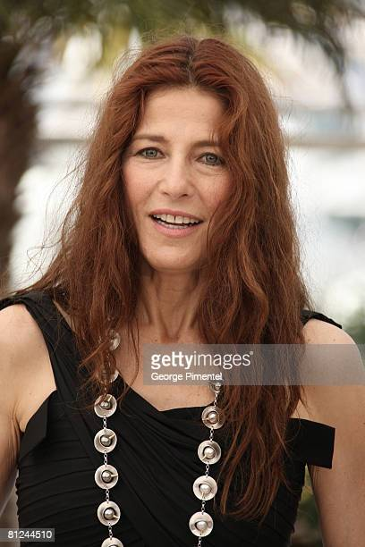 Actress Catherine Keener attends the 'Synecdoche New York' Photocall at the Palais des Festivals during the 61st International Cannes Film Festival...
