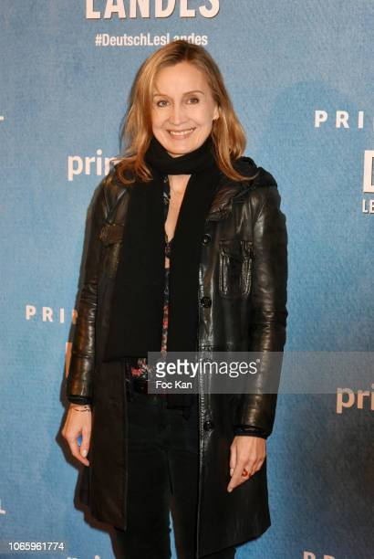 Actress Catherine Marchal attends 'Deutsch Les Landes' Premiere at Cinema Gaumont Capucines on November 27 2018 in Paris France