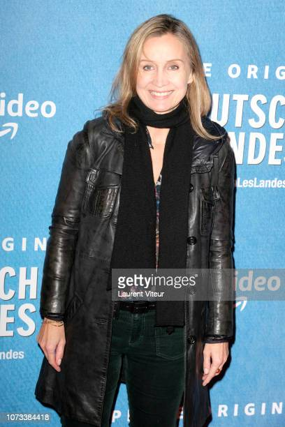 Actress Catherine Marchal attends 'Deutsch les Landes' Premiere at Cinema Gaumont Capucine on November 27 2018 in Paris France