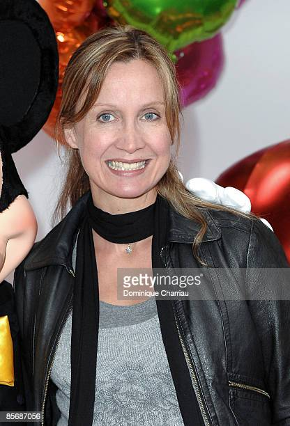 Actress Catherine Marchal attends Mickey Mouse Magic Party At Disneyland Resort on March 28 2009 in Marne la Vallee France