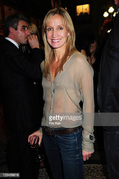 Actress Catherine Marchal attends the Nathalie Garcon Pop up Store Launch Party at Gallery Vivienne on September 27 2010 in Paris France