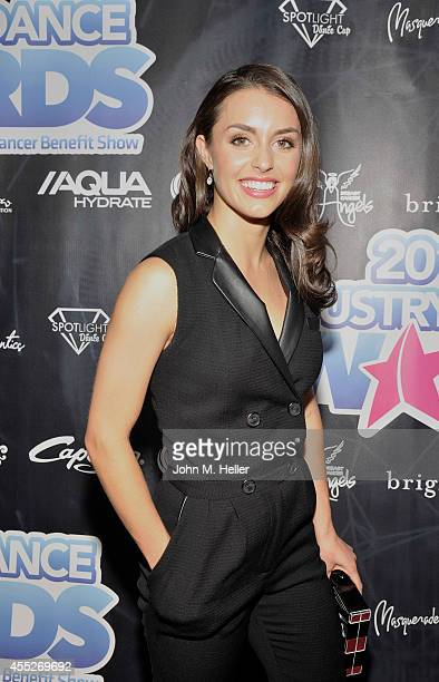 Actress Catherine McCormack attends the 2014 Industry Dance Awards Honoring Paula Abdul And Nigel Lythgoe at the Avalon on September 10 2014 in...