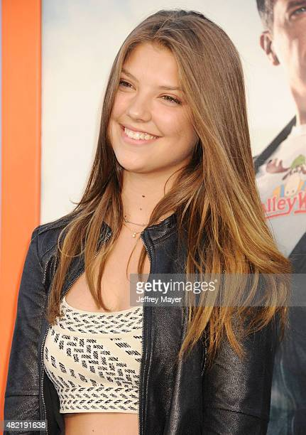Actress Catherine Missal arrives at the Premiere Of Warner Bros 'Vacation' at Regency Village Theatre on July 27 2015 in Westwood California