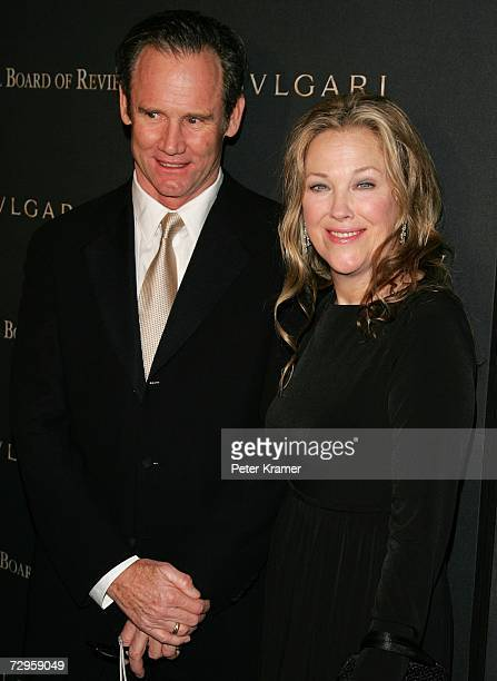 Actress Catherine O'Hara and her husband Bo Welch attend the 2006 National Board Of Review Awards Gala at Cipriani 42nd Street January 9 2007 in New...