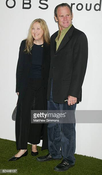 Actress Catherine O'Hara and husband Bo Welch arrive to the block party in celebration of the opening of three Marc Jacobs stores on Melrose Place...