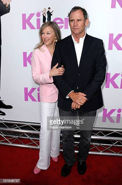 Actress Catherine O'Hara and husband Bo Welch arrive to the premiere of Lionsgate's Killers held at ArcLight Cinema's Cinerama Dome on June 1 2010 in...