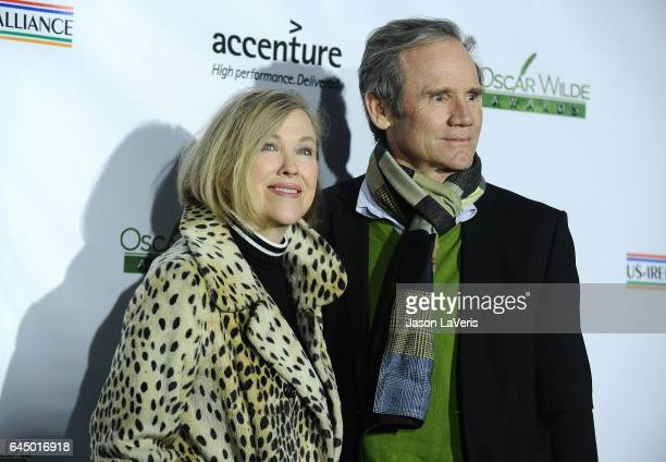 Actress Catherine O'Hara and husband Bo Welch attend the 12th annual Oscar Wilde Awards at Bad Robot on February 23 2017 in Santa Monica California