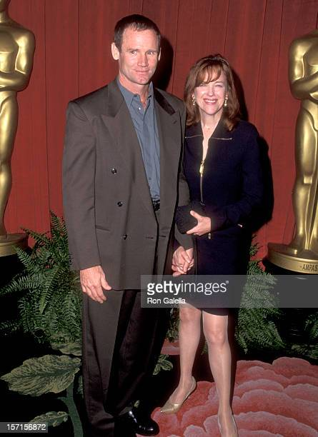 Actress Catherine O'Hara and husband Bo Welch attend the 68th Annual Academy Awards Nominees Luncheon on March 12 1996 at Beverly Hilton Hotel in...