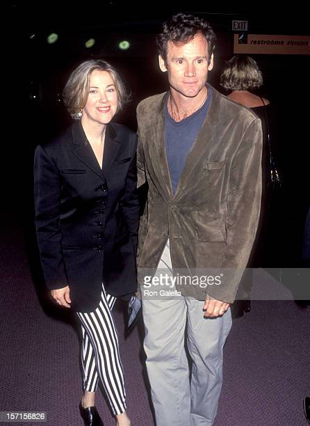 Actress Catherine O'Hara and husband Bo Welch attend the American Heart West Hollywood Premiere on May 11 1993 at Pacific Design Center Center Green...