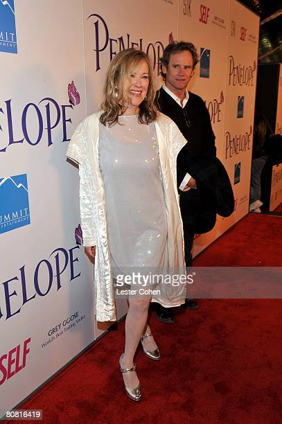 Actress Catherine O'Hara and husband Bo Welch attend the premiere of Penelope presented by Self Magazine at the DGA on February 20 2008 in Los Angeles