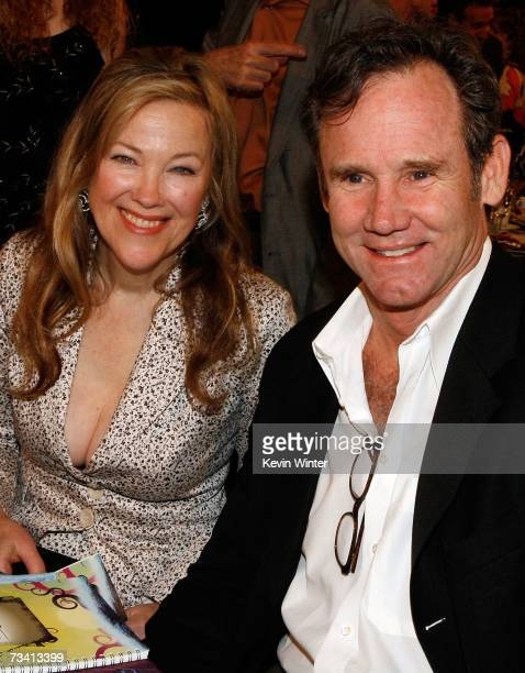 Actress Catherine O'Hara and husband Bo Welch in the audience during the 22nd Annual Film Independent Spirit Awards held at Santa Monica Beach on...