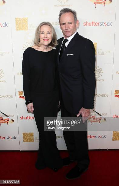 Actress Catherine O'Hara and husband production designer Bo Welch attend the 22nd Annual Art Directors Guild's Excellence In Production Design Awards...