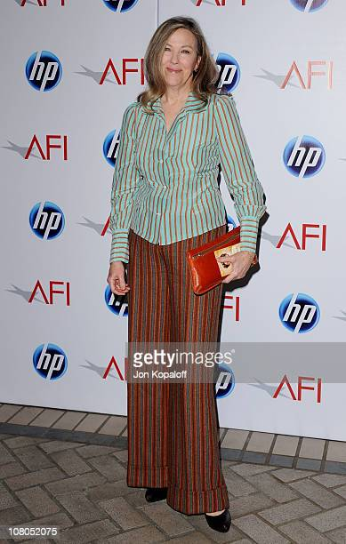 Actress Catherine O'Hara arrives at the 2011 AFI Awards at The Four Seasons Hotel on January 14, 2011 in Beverly Hills, California.
