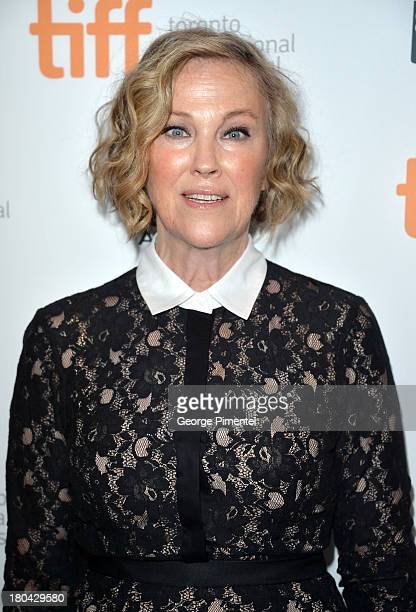 Actress Catherine O'Hara arrives at 'The Right Kind Of Wrong' Premiere during the 2013 Toronto International Film Festival at Roy Thomson Hall on...