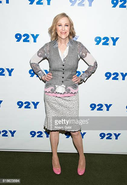 Actress Catherine O'Hara attends 92nd Street Y's 'Schitt's Creek' panel at 92nd Street Y on March 14 2016 in New York City