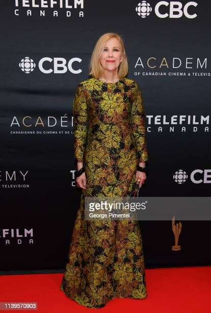Actress Catherine O'Hara attends the 2019 Canadian Screen Awards Broadcast Gala at Sony Centre for the Performing Arts on March 31 2019 in Toronto...