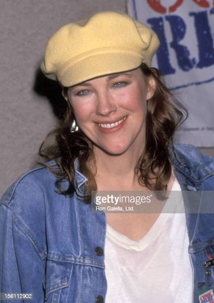 Actress Catherine O'Hara attends the Comic Relief III Benefit on March 18 1989 at Universal Amphitheatre in Universal City California