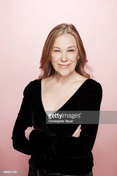 Actress Catherine O'Hara is photographed for Entertainment Weekly Magazine on January 22 2013 in Park City Utah