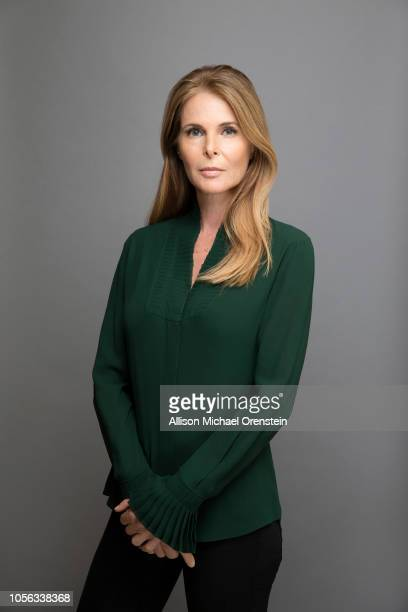 Actress Catherine Oxenberg is photographed for People Magazine on October 21 2017 in Brooklyn Heights New York