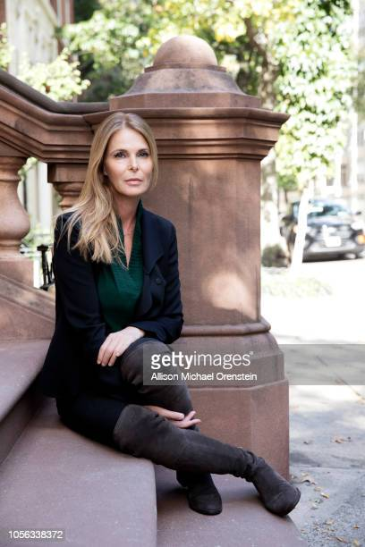 Actress Catherine Oxenberg is photographed for People Magazine on October 21 2017 in Brooklyn Heights New York PUBLISHED IMAGE