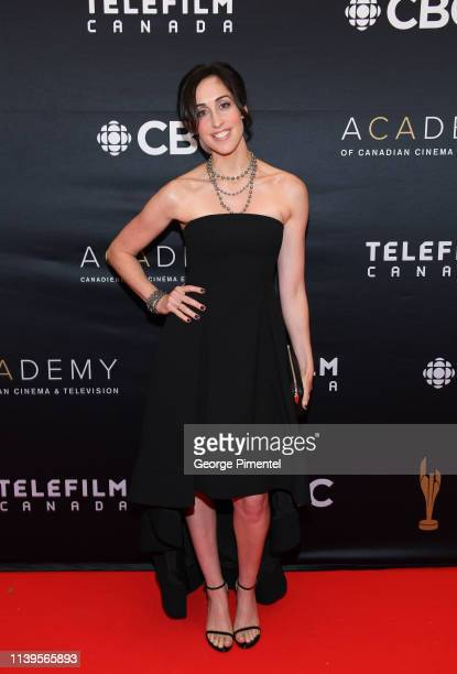Actress Catherine Reitman attends the 2019 Canadian Screen Awards Broadcast Gala at Sony Centre for the Performing Arts on March 31 2019 in Toronto...