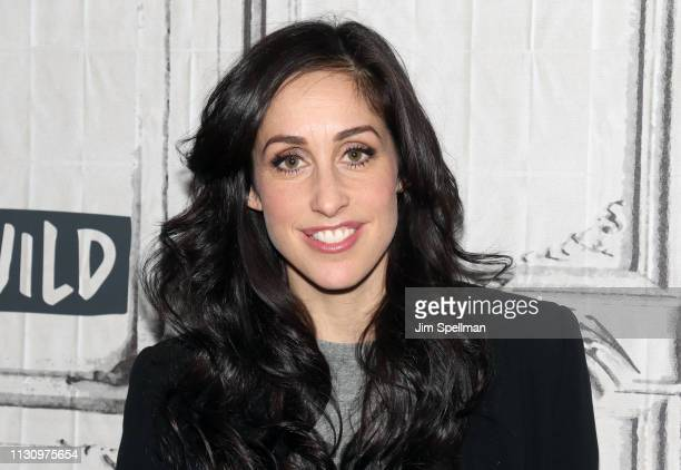 Actress Catherine Reitman attends the Build Series to discuss Workin' Moms at Build Studio on February 20 2019 in New York City