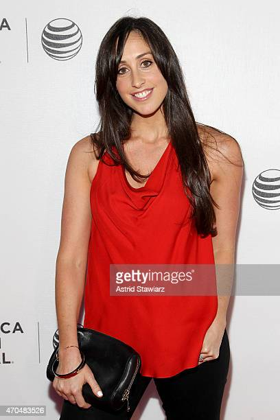 Actress Catherine Reitman attends the premiere of Slow Learners during the 2015 Tribeca Film Festival at Spring Studio on April 20 2015 in New York...