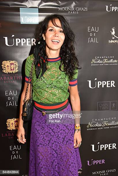 Actress Catherine Wilkening attends the Upper Concept Store Launch Party on July 02 2016 in Paris France