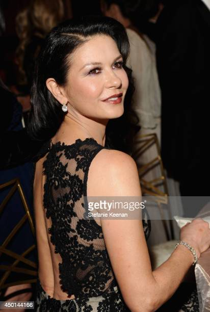 Actress Catherine Zeta-Jones attends the 2014 AFI Life Achievement Award: A Tribute to Jane Fonda at the Dolby Theatre on June 5, 2014 in Hollywood,...