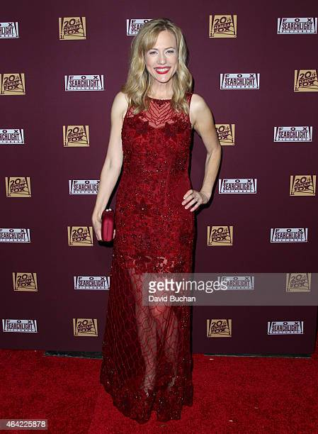 Actress Cathryn de Prume attends the 21st Century Fox and Fox Searchlight Oscar Party at BOA Steakhouse on February 22 2015 in West Hollywood...