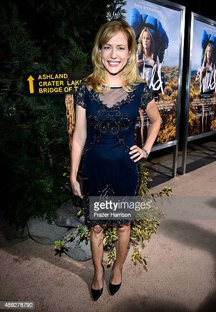 Actress Cathryn de Prume attends the premiere of Fox Searchlight's 'Wild' at AMPAS Samuel Goldwyn Theater on November 19 2014 in Beverly Hills...