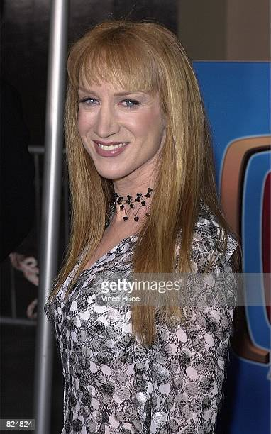 Actress Cathy Griffith of the television show 'Suddenly Susan' arrives at the 2001 TV Guide Awards February 24 2001 in Los Angeles CA