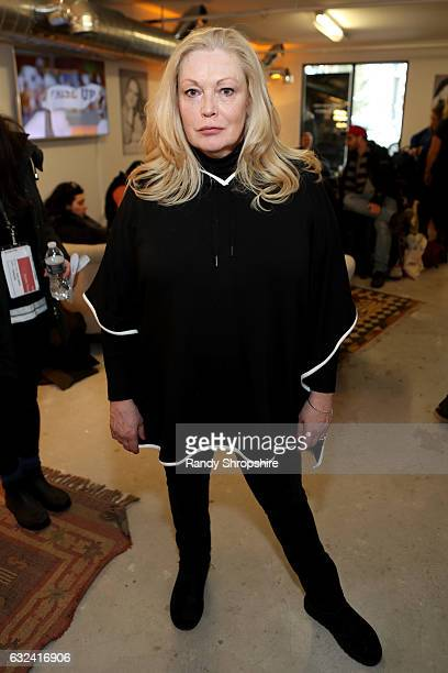 Actress Cathy Moriarty attends ATT At The Lift during the 2017 Sundance Film Festival on January 22 2017 in Park City Utah